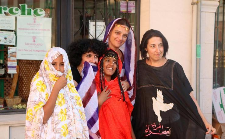 El Sáhara y Baltanás se dan la mano