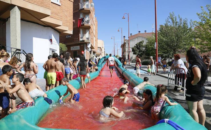 Diversión en las fiestas de Santa Marta en Salamanca