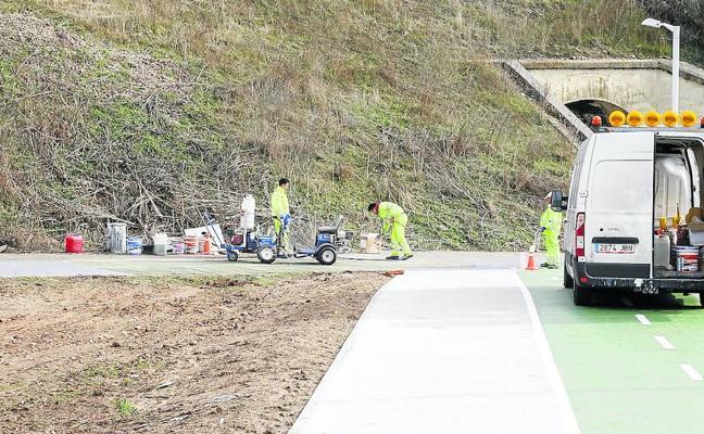 3,3 nuevos kilómetros permitirán la conexión con Cabrerizos por carril bici
