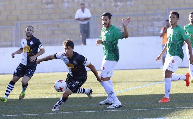 Amistoso entre el CD Guijuelo - Unionistas de Salamanca (0-1)