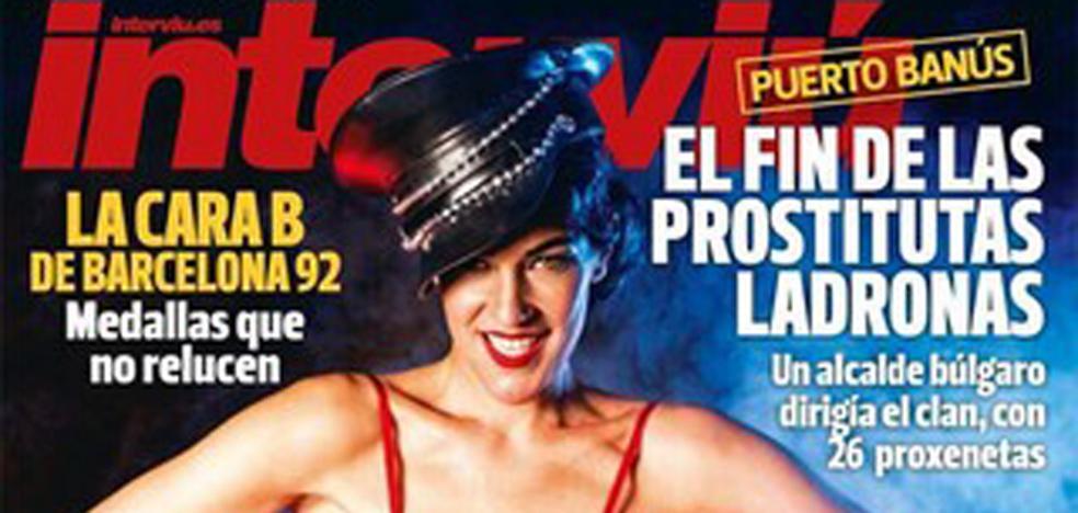 La reina del Burlesque, portada de 'Interviú'