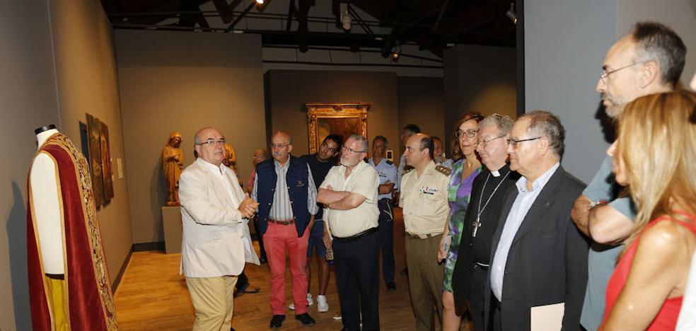 La muestra 'Patrimonio Restaurado' expone 36 obras de arte sacro