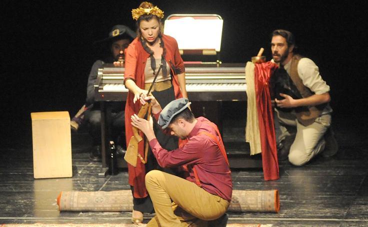Representación de 'El perro del hortelano' en el Festival de Teatro Clásico de Olmedo