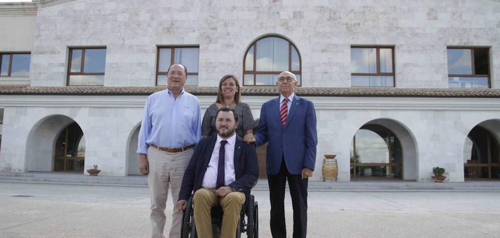 Matarromera y 'Plena Inclusión' firman un acuerdo de colaboración