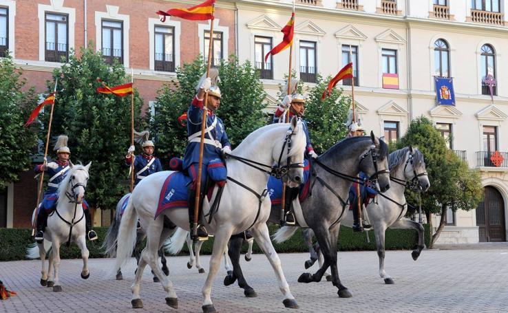 La Academia de Caballería festeja a su patrón, Santiago Apóstol