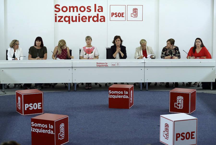 El PSOE quiere que el pacto contra la violencia machista erradique la prostitución