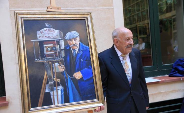 Homenaje al 'Minutero' de Segovia por su 90 cumpleaños