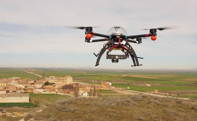 Drones para salvar monumentos desde el cielo