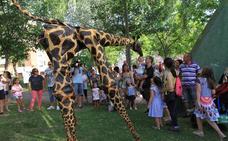 Las jirafas pasean por Nueva Segovia