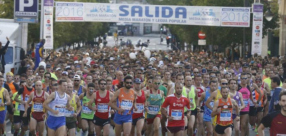 OBJETIVO Media Maratón de Valladolid: entrenamiento