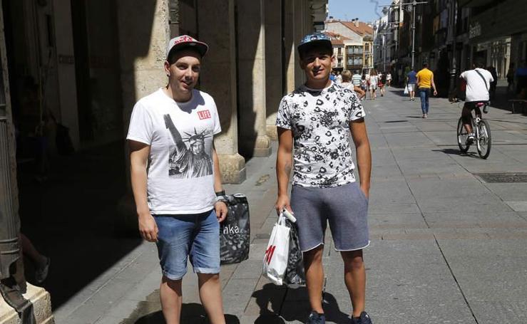 Ecuador de las rebajas de verano en Palencia