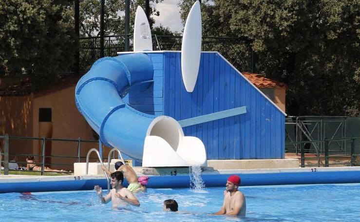 Temporada de piscinas en Palencia