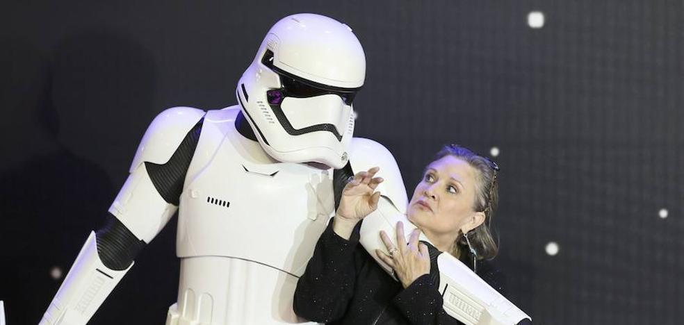 Un final increíble para la princesa Leia