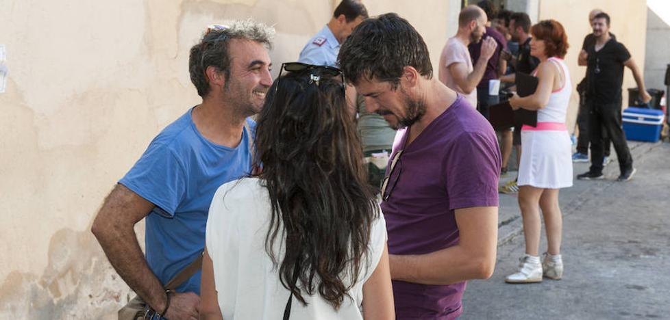 La serie 'Gigantes', con José Coronado y Daniel Grao, se rueda en Segovia