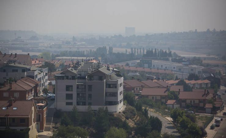 Valladolid, bajo una nube de humo