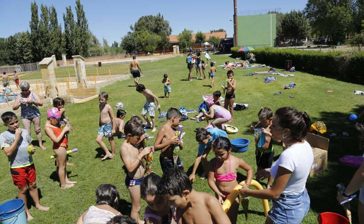 Gymkana en las fiestas en Monzón de Campos