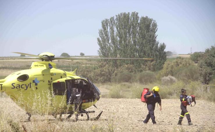 Accidente en Pesquera de Duero