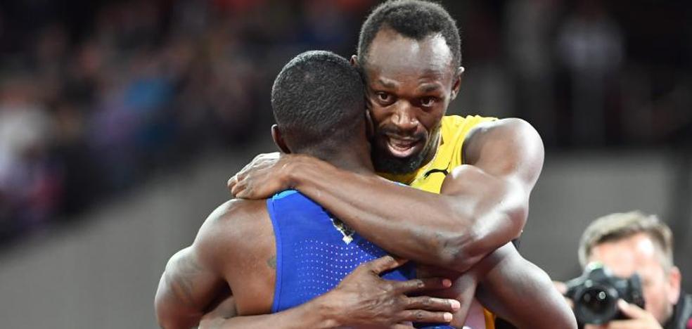 Gatlin manda callar a Bolt