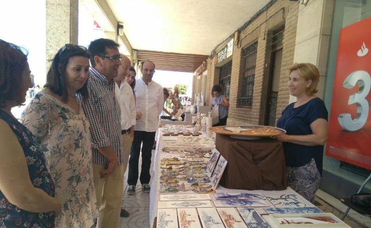 Feria de cerámica en Paredes de Nava