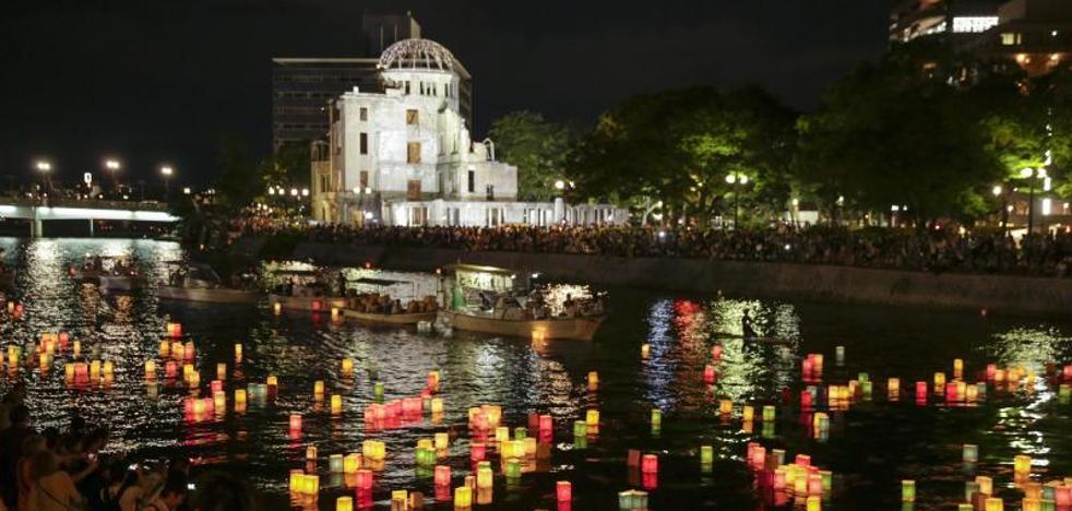 Japón recuerda a las víctimas de Hiroshima