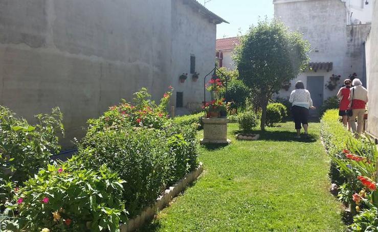 Visitas a los patios y a la iglesia de Monzón de Campos