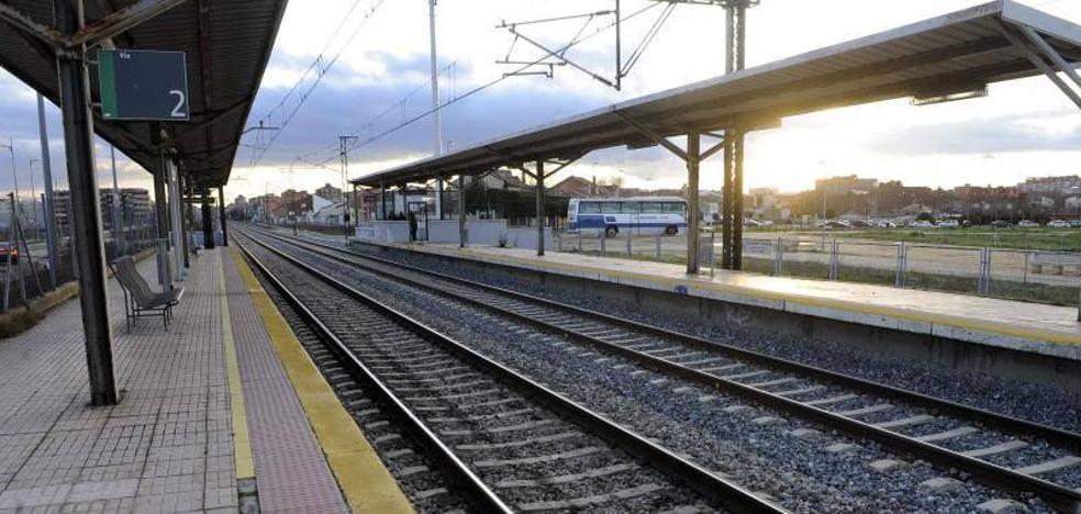 Un fallecido al ser arrollado por un tren en el apeadero de la Universidad de Valladolid