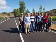 Concluidas las obras en el tramo de Vega de Bur a Amayuelas de Ojeda