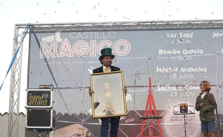 Tarde de magia junto al castillo de Fuentes de Valdepero