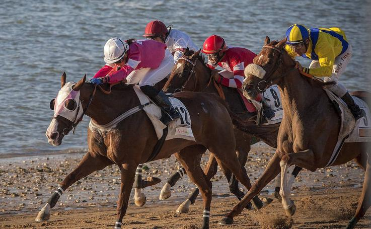 De carreras en Sanlúcar de Barrameda