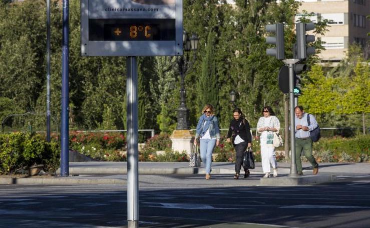 Temperaturas por debajo de los 10 ºC en Valladolid