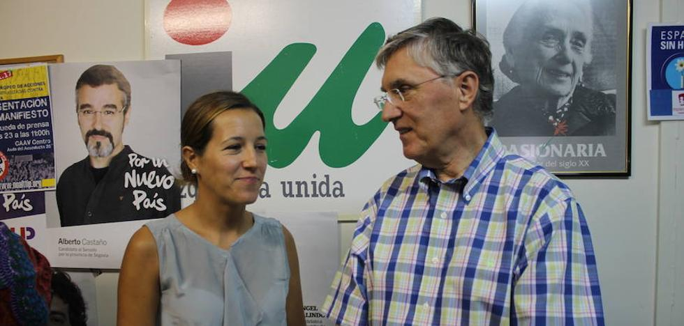 José Luis Ordóñez toma las riendas de IU en Segovia