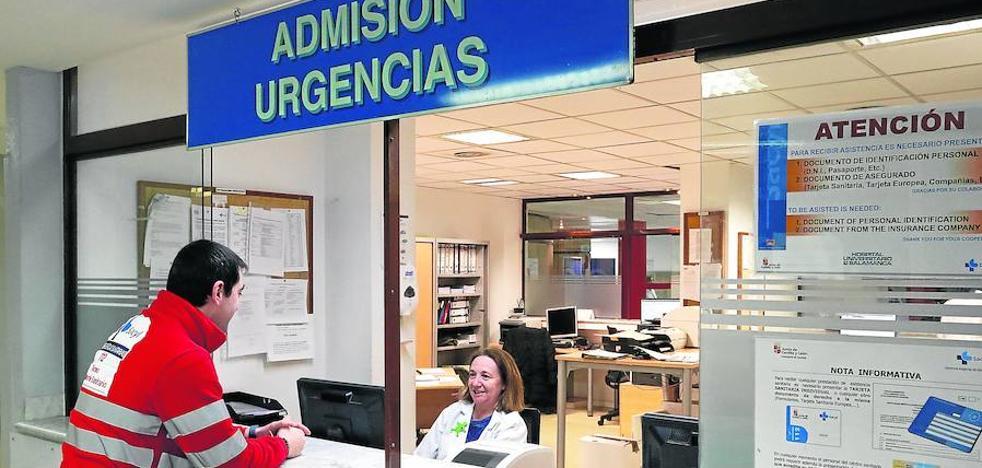 Urgencias atendió el pasado lunes a 120 pacientes más de la media diaria habitual