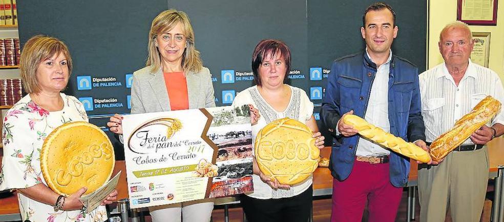 Cobos acogerá el próximo jueves, día 17, la I Feria del Pan del Cerrato