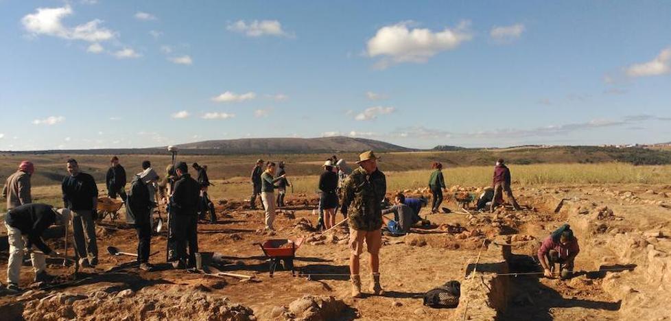 Las excavaciones de Numancia avanzan en la investigación de la manzana XXIV