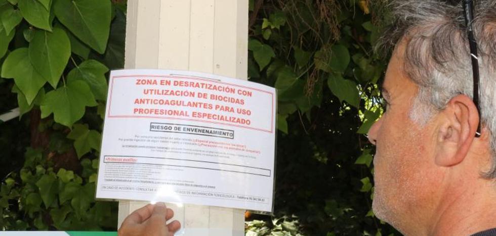 Refuerzo de la campaña contra las ratas en Huerta del Rey y el Esgueva