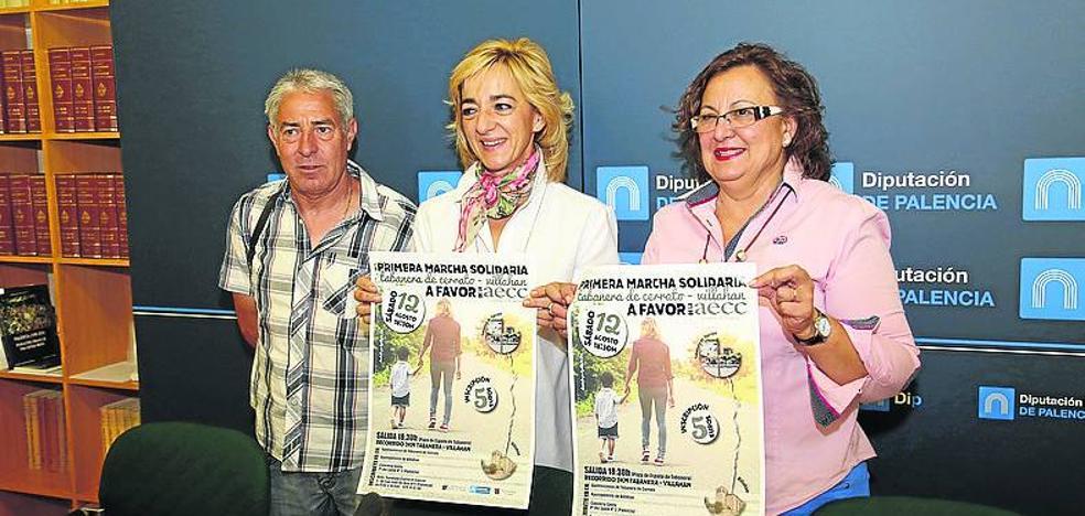 Tabanera de Cerrato y Villahán celebran este sábado una marcha solidaria