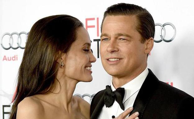 Brad Pitt deja el alcohol y Angelina frena el divorcio