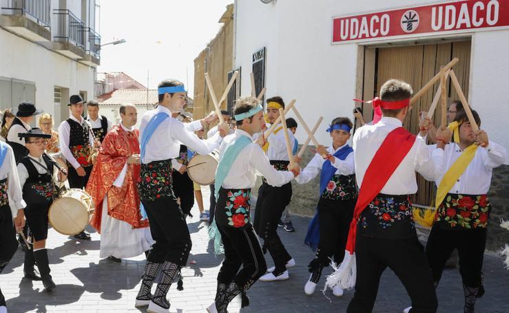 Fiestas en honor a San Lorenzo en Saucelle, Salamanca