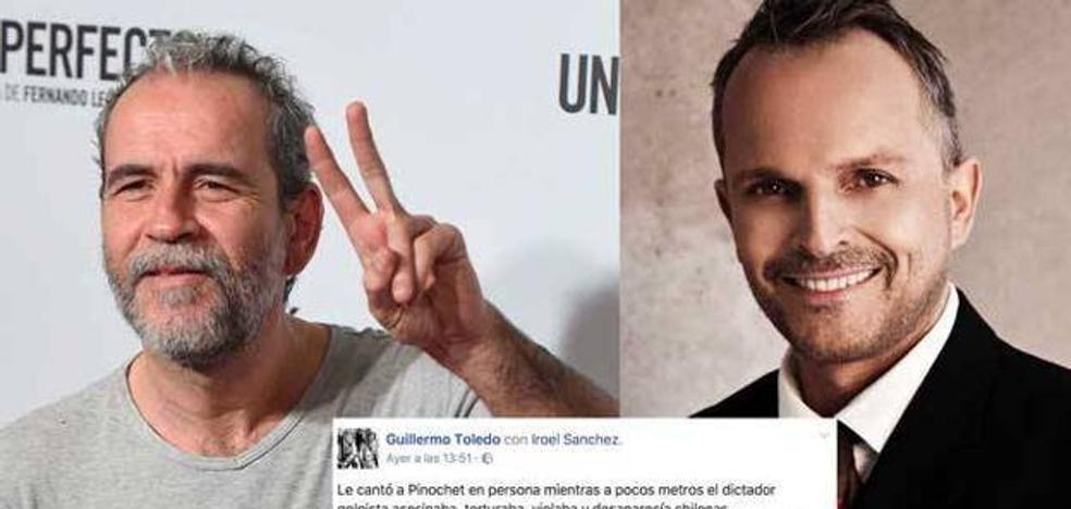 Willy Toledo ataca a Miguel Bosé por sus comentarios contra Maduro