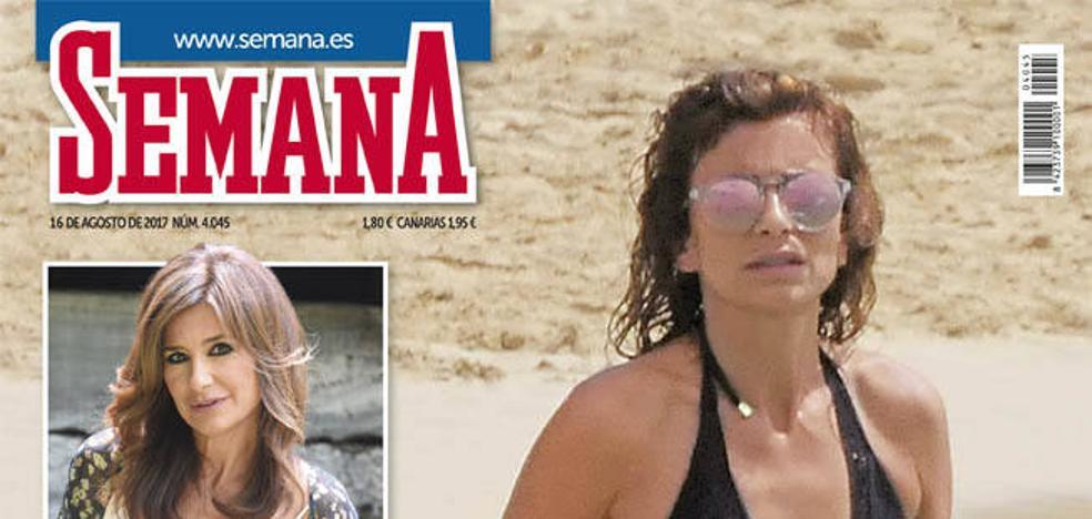 Las vacaciones de la periodista Gema López en la portada de Semana