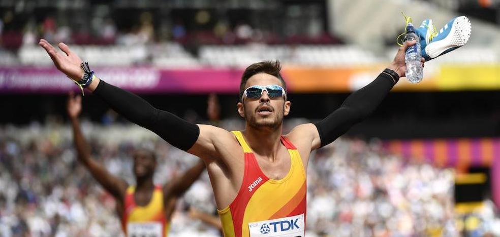 Husillos, a la final del 4x400 metros del Mundial de Londres