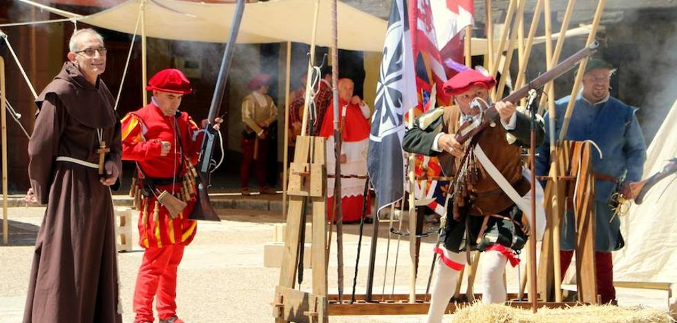 Palenzuela recibe a Carlos V