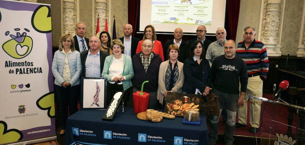 Los Alimentos de Palencia llegan a Herrera