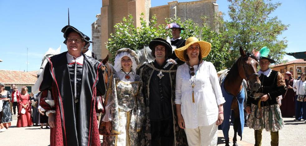 Becerril de Campos festeja la visita del emperador