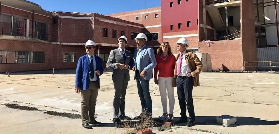 La Junta retoma las obras del ayuntamiento y el auditorio de Guardo