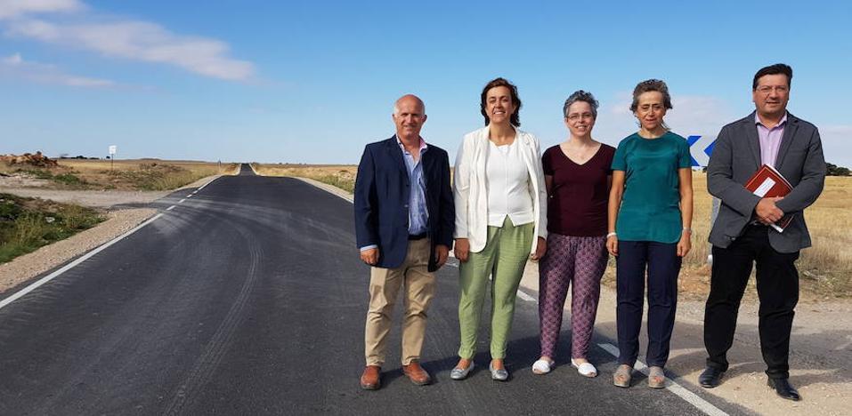Concluyen las obras de la carretera de Castrillo de Onielo