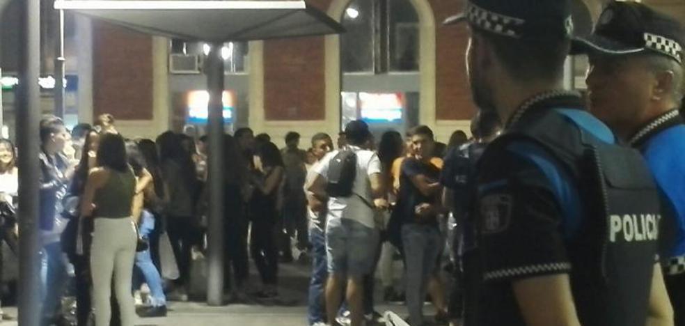Dos heridos en Viana, uno golpeado por un tren y otro en una pelea