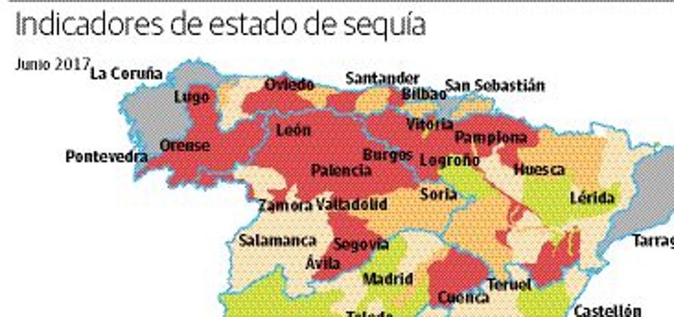 La sequía pasa una factura de más de mil millones de euros a la economía regional
