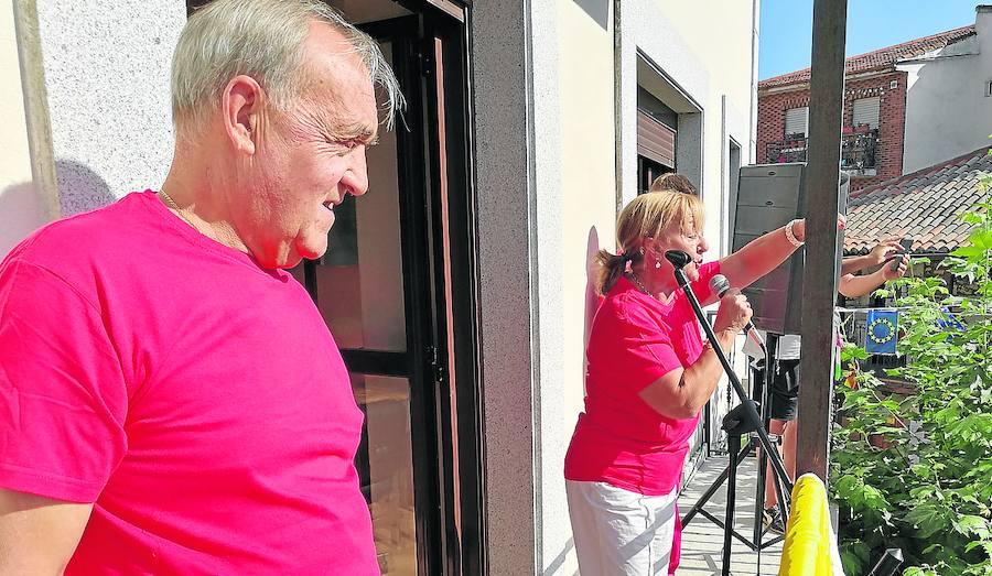 El alcalde invita durante el chupinazo a disfrutar «despacito» de las fiestas