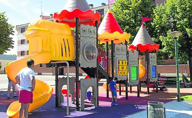 Los nuevos parques infantiles